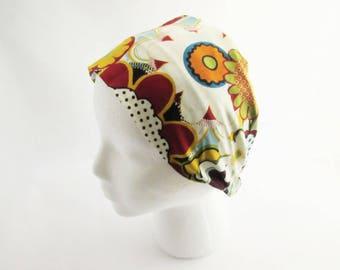 Flower Headband - Fitness headband - Hippie Headband - Hair Headband - Non Slip Headband - Wide headband - Ready to Ship