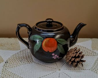 Gibson Redware Teapot Little Brown Betty  England