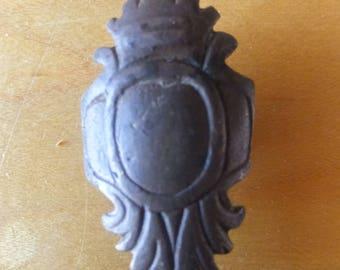 Ottoman Empire Bronze Leather Attachment