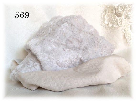 Italian Viscose Plush Fabric Fur Hand Dyed 569 6 Mm Pile