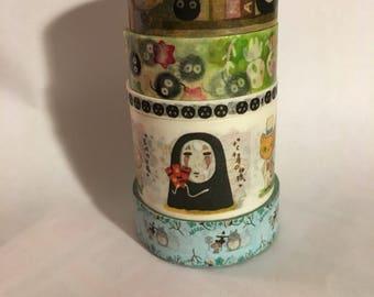 Washi Tape Sample: Studio Ghibli