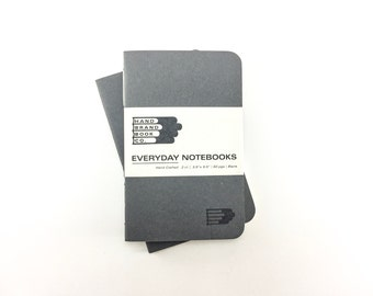 Everyday Notebooks - Iron - 2 pack