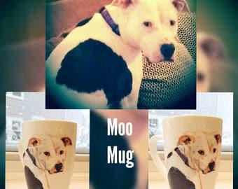 Pet Portrait - Dog - Pitbull/Boxer Mix - Mug