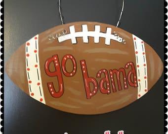 Alabama Football Door Hanger Roll Tide