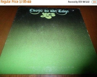 Save 30% Today Vintage 1972 Vinyl LP Record Yes Close to the Edge Very Good Condition Atlantic Records 3747