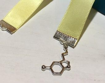 Serotonin Ribbon Bookmark