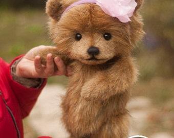 Bear Sunny ,Teddy Bear Stuffed Animal Bear Soft Toys Artist Teddy Bears