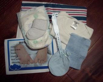 HoSpiTaL ReBoRn BaBy BoY SeT For Baby or ReBoRn DoLL ~REBORN DOLL SUPPLIES