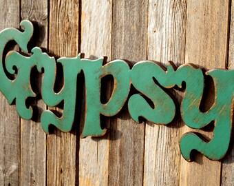 Gypsy Wedding Gypsy Decor Gypsy Boho Decor Gypsy Sign Gypsy Wall Decor Gypsy Wood Sign Gypsy Wall Art Gypsy Decor Boho Decor Hippie Decor