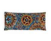 Eye pillow, Lavender Eye Pillow, Boho Eye pillow, Relaxation, Sleep Aid, Yoga, Heating pad, Organic flax, Spa gift, Aromatherapy, Shavasana