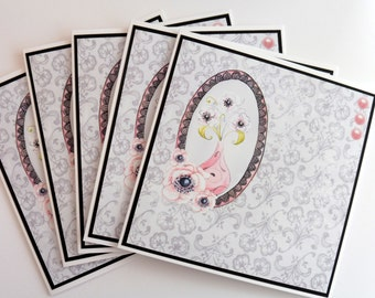 C2395 - Set of 5 Notecards