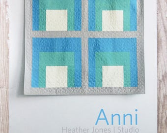 Anni Quilt Pattern - Heather Jones  - HJ002