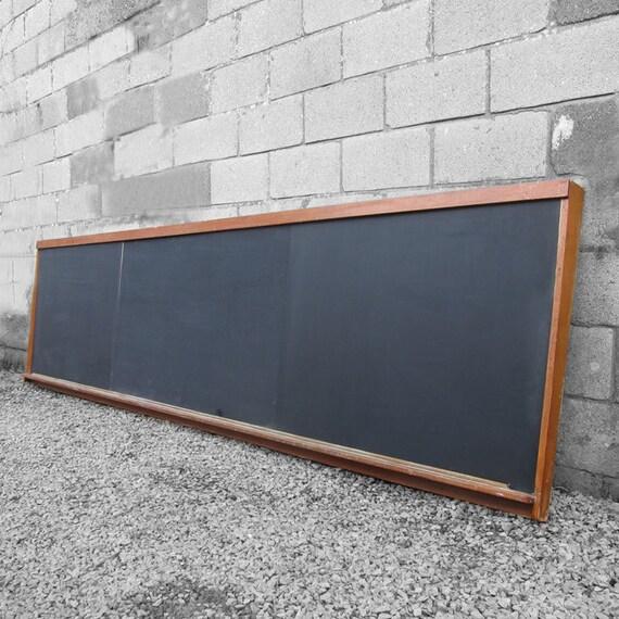 Vintage School Blackboard Long Wall Kitchen Menu Board Food Bar Restaurant