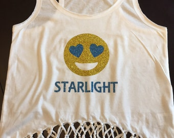 Personalized Camp Fringe Tank