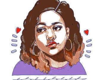 Custom Portraits (Drawing)
