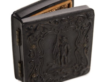 John William Ellis original 1862 identified Tintype Image w/written note