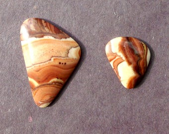 Oregon Picture Jasper (set of 2)