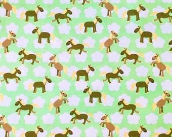 "Hilco organic Jersey ""Jumping Horses"""