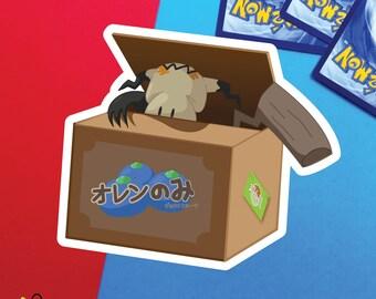 Mimikyu Pokemon Fruit Box |  sticker