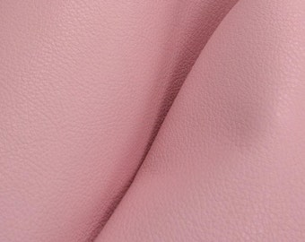 "Charming Pretty Pink ""Signature""  Leather Cow Hide 8"" x 10"" Pre-Cut  2-3 oz flat grain DE-52174 (Sec. 8,Shelf 3,C)"