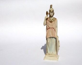 Athena Goddess, Greek Statue, Athena Sculpture, Athena Statue, Greek Ceramic Sculpture, Ceramic Greek Statue, Greek Goddess, Athena