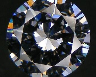 10 PCS 3A++ Round Brilliant Cut 11 mm Loose Round White CZ Loose Gemstones