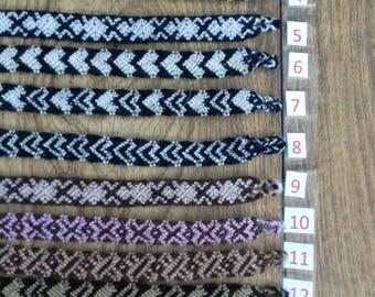 Andean Friendship Bracelets - natural colours