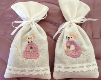 Lavender Sachets, Lavender Bags, Lavender, Lavender Gifts, Scented Gift, Scented Sachets, Drawer Scented Sachets, Linen Bags