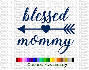 Blessed Mommy Decal