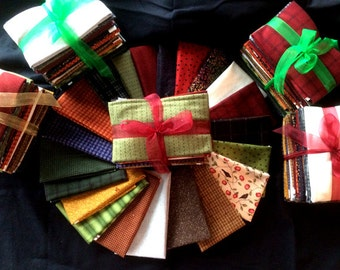 SALE!  SALE!   WOOLIES Flannel Fat Quarter Bundle  - 20 fabrics  = 5 yards     by: Maywood Studio