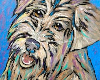 Happy Face Art Print by Napolske Artist
