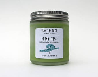 Fairy Dust Soy Candle - 8 oz