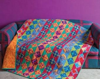 CHAIN REACTION Quilt Fabric Pack w/backing Artisan by Kaffe Fassett