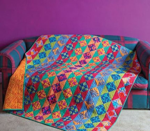 CHAIN REACTION Quilt Fabric Pack w/backing Artisan by Kaffe Fassett