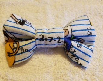 Adventure Time Bow Tie/Hair Tie 3''x2''