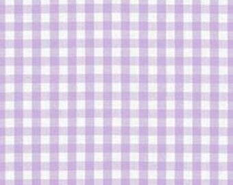 """Sale - Fabric Finders -Lilac Gingham Check  1/8"""" gingham - 60"""" wide - 100% cotton"""