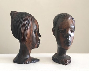 African Bust Etsy