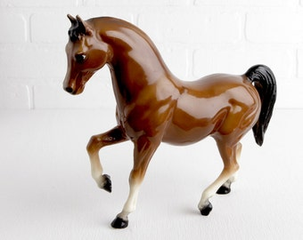Vintage Breyer Glossy Bay Family Arabian Stallion #13 with Eye Whites