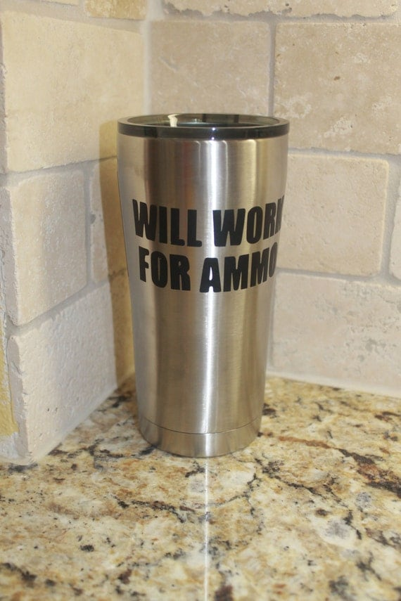 Ammo, NRA Decal, Decals for men, 2 amendment decals, yeti decal for men, Navy, Marine, Army, gun, decals for women, concealed