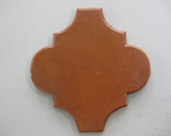 "Floor-Terracotta Mexican Carrillo Clay Tile 8"" Espanola Sealed (CALL Us For A Freight Quote)"