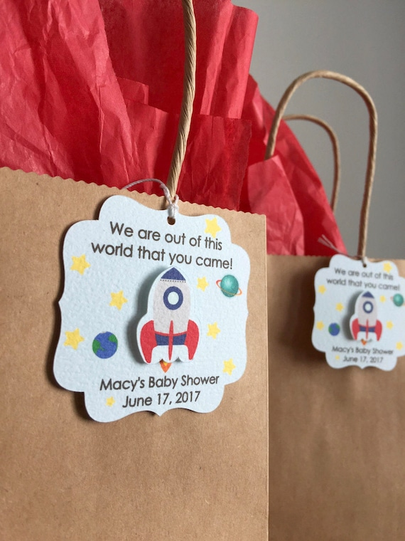 outer space party favor tags outer space birthday party favor tags