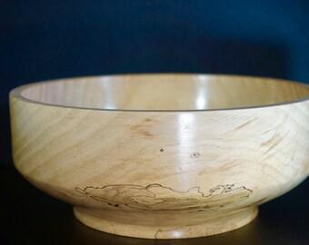 Wood Bowl, American Elm
