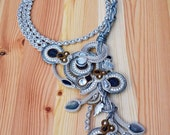 made to order - Beautiful soutache necklace
