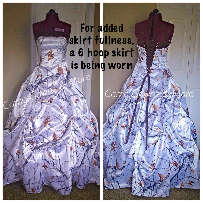 Camo Outdoor Wedding Ideas: CAMO Wedding Dress Camo Prom Dress By CamoGownsAndMore On Etsy