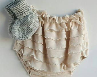 Frilly Bloomers 0-6m