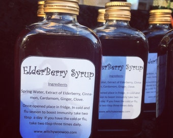 Elderberry syrup • cold • flu • natural remedy • immunity booster
