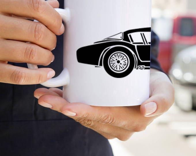 KillerBeeMoto:  U.S. Made Limited Release Aston Martin DB3S Le Mans Racer Car Coffee Mug