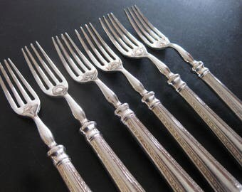 1950s British Commonwealth Steamship Company Set of Six Forks