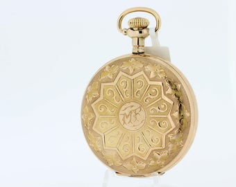 1920s Waltham Pocket watch Gold Filled
