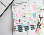 Wonderland Weekly Planner Kit for No-White Space and White Space Planners  - FK03
